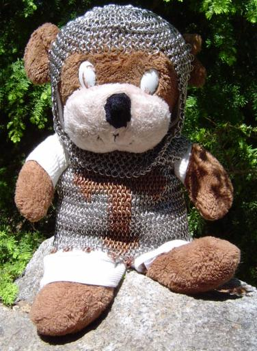 if you can make chainmaille to fit a bear you can make it to fit any-body!
